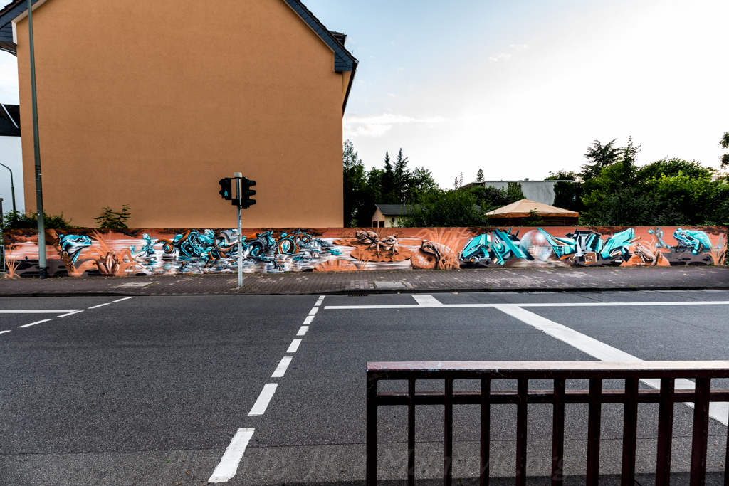 Graffiti Wall Honsar & Shogun 2016 Frankfurt 2016