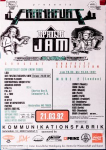 SPRINGJAM 1992 Plakat