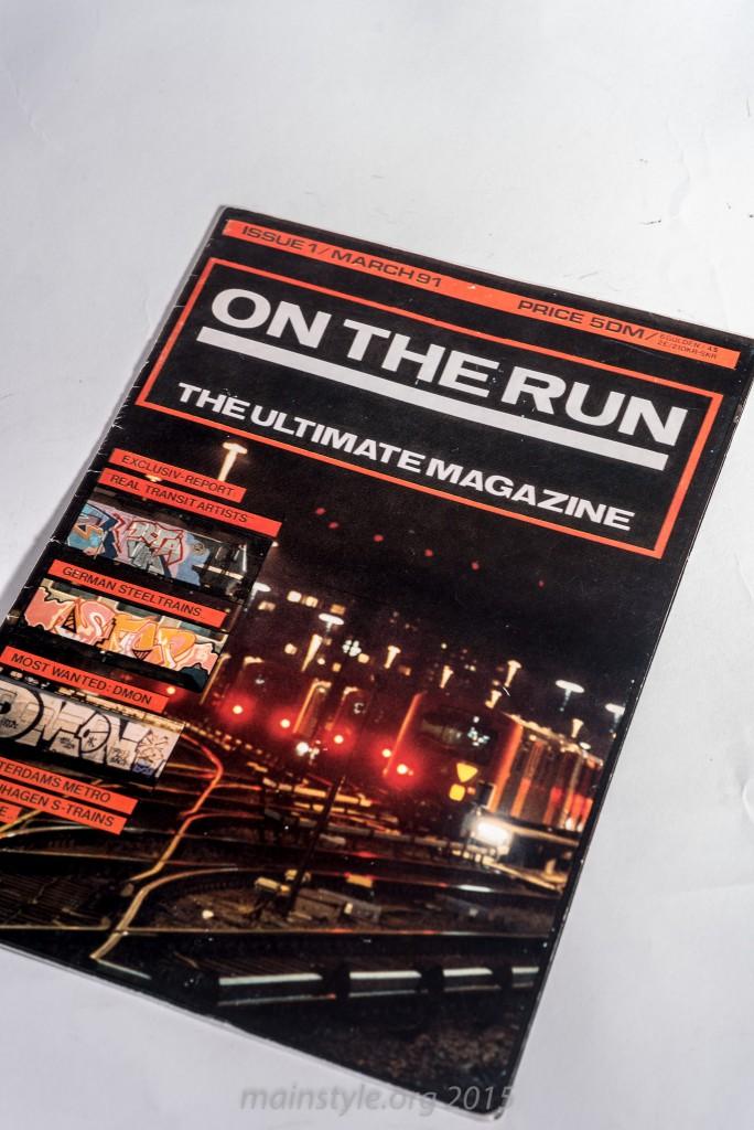 On The Run, first Edition, 1991, Wiesbaden, Akim Walter