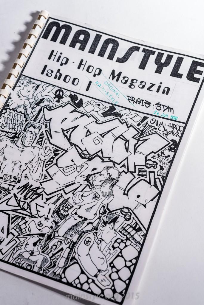 Hip Hop Mag Mainstyle I - 1990 b/w