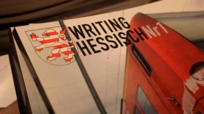 writing hessisch Nr. 1